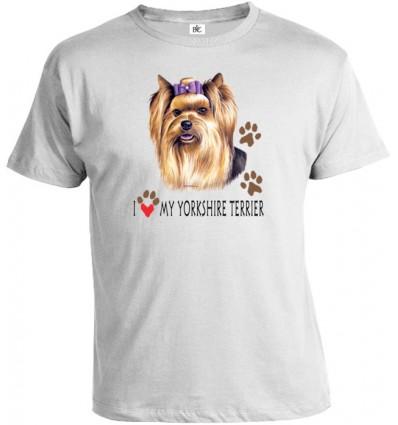 Tričko pánske - Yorkshirský teriér