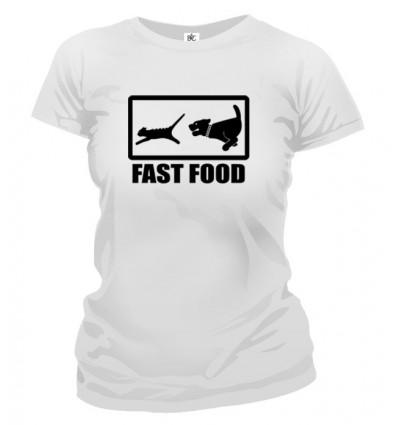 Tričko dámske - Fast Food