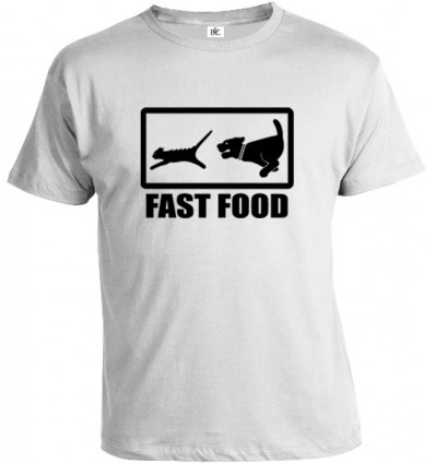 Tričko pánske - Fast Food