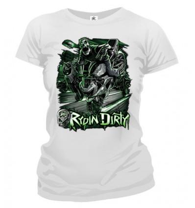 Tričko dámske - Rydin Dirty