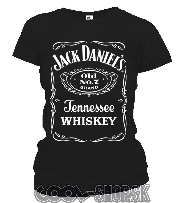 0078c7c4652 ... Tričko dámske - Jack Daniels