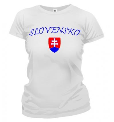 Tričko dámske - Slovensko
