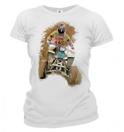Tričko dámske - Štvorkolka