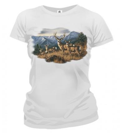 Tričko dámske - Jeleň