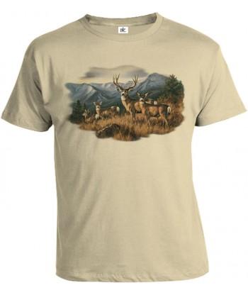 Tričko pánske - Jeleň