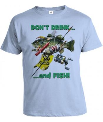 Tričko pánske - Nepi keď si na rybách