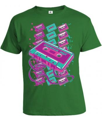Tričko pánske - Neon Kazety