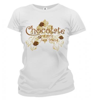 Tričko dámske - Čokoláda