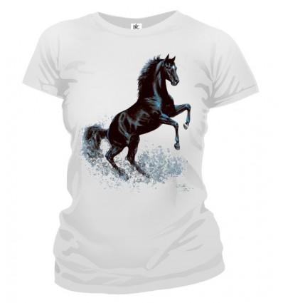 Tričko dámske - Čierny Kôň