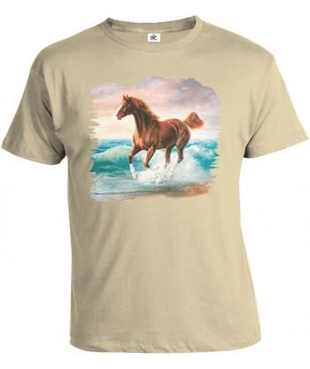 Tričko pánske - Cválajúci kôň