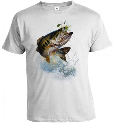 Tričko pánske - Ryba na háčiku