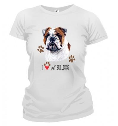 Tričko dámske - Bulldog