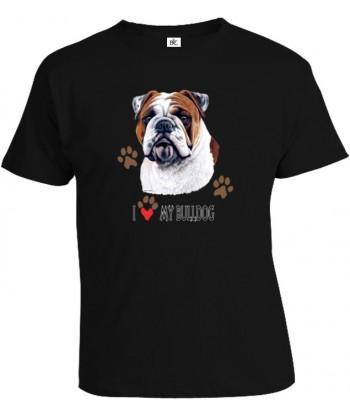 Tričko pánske - Bulldog