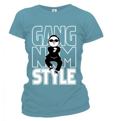 Tričko dámske - Gangnam Style