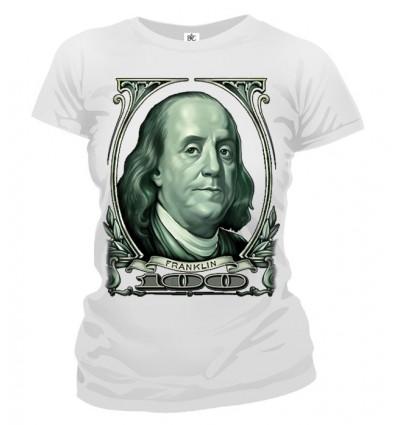 Tričko dámske - 100 dolárov