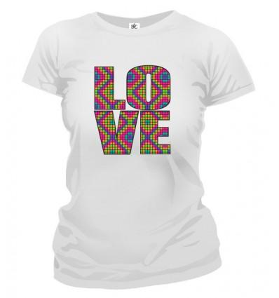 Tričko dámske - Love