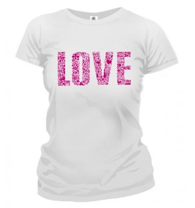 Tričko dámske - Love 2