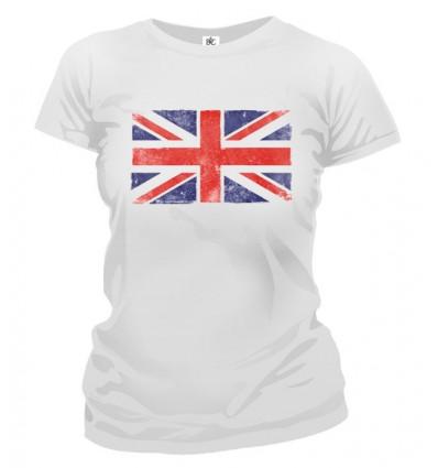 Tričko dámske - Anglická vlajka