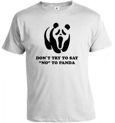 Tričko pánske - Scary Panda