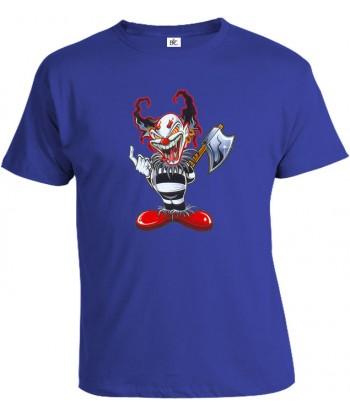 Tričko pánske - Klaun so sekerou