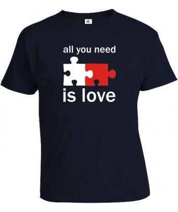 Tričko pánske - All You Need Is Love