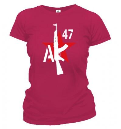 Tričko dámske - AK-47