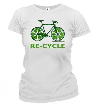 Tričko dámske - Recycle