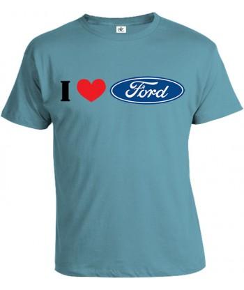 Tričko pánske - I Love Ford