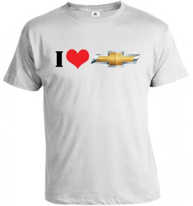 Tričko pánske - I Love Chevrolet