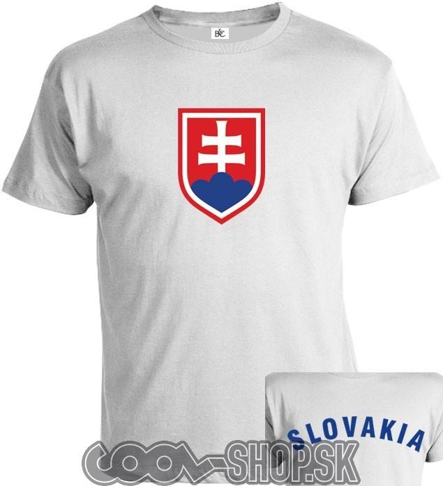 beac1f2034c2d Tričko Slovakia | COOL-SHOP.SK