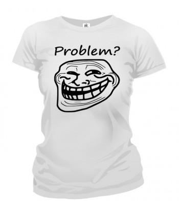Tričko dámske - Meme Trollface