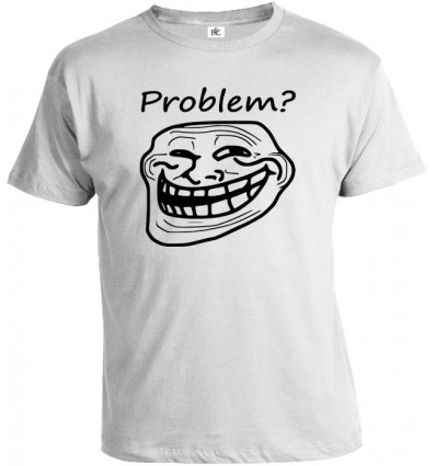 Tričko pánske - Meme Trollface