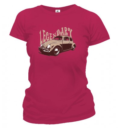 Tričko dámske - Legendary Beetle