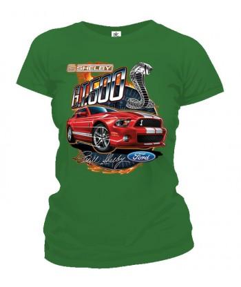 Tričko dámske - Shelby GT500