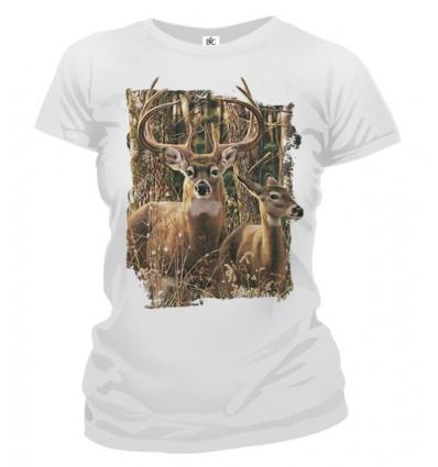 Tričko dámske - Jeleň 2