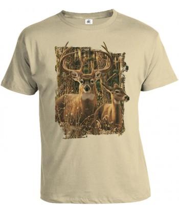 Tričko pánske - Jeleň 2
