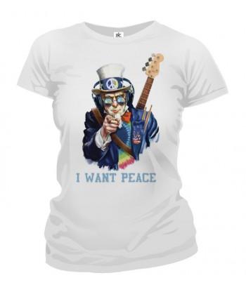 Tričko dámske - I Want Peace