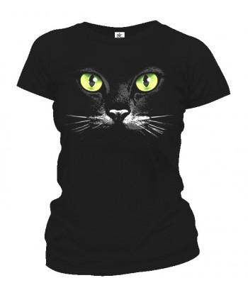 Tričko dámske - Mačacie oči