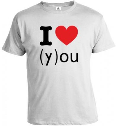 Tričko pánske - I Love You