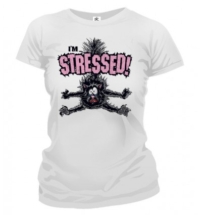 Tričko dámske - Stressed!