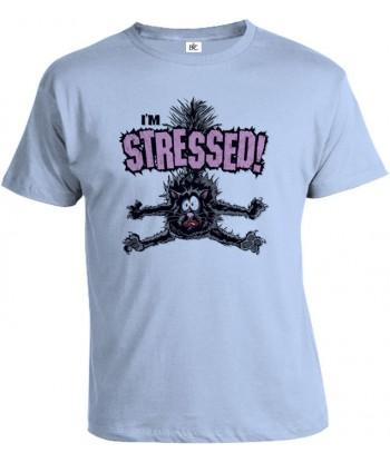 Tričko pánske - Stressed!