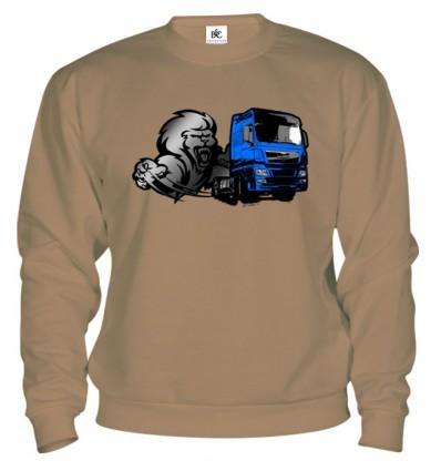 Mikina - Lion truck
