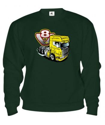 Mikina - V8-truck