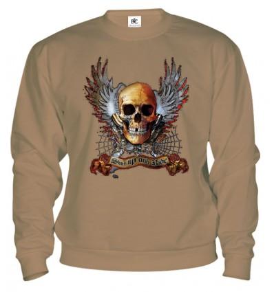 Mikina - Winged Skull