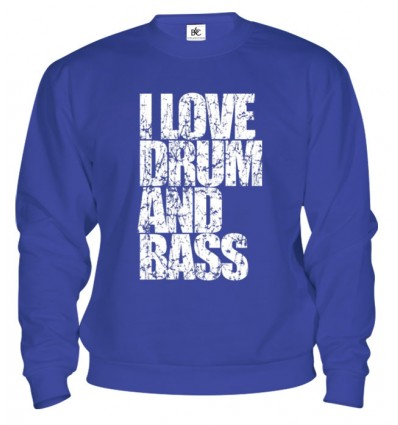 Mikina - I Love Drum and Bass