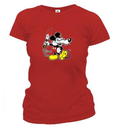 Tričko dámske - Mickey Rat