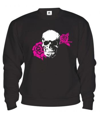 Mikina - Skull Rose