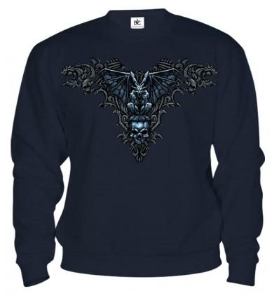 Mikina - Gotické Lebky 2