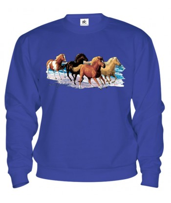 Mikina - Cválajúce kone