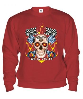 Mikina - Racing Skull